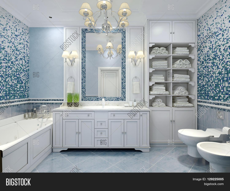 Furniture Classic Blue Image & Photo (Free Trial) | Bigstock