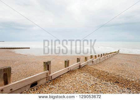 Beautiful Hastings Seascape In England
