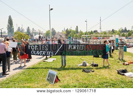 Protest Against Immigration Policy