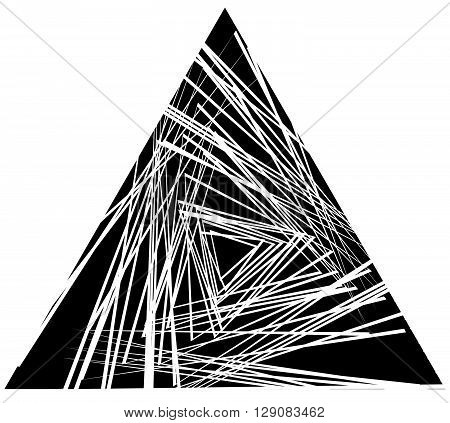 Random, Scattered Triangles