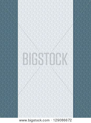 Blank letter paper with 3D seamless texture for cover or title page