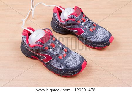 Electric Ultraviolet Shoe Dryer And Sneakers.