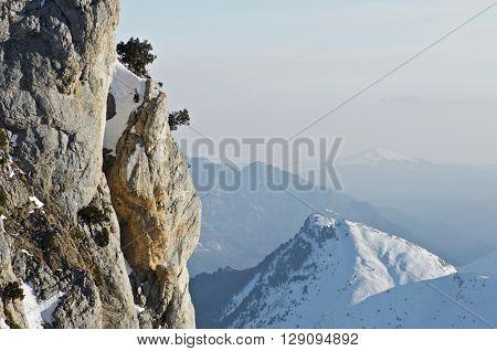 Foratata peak in the Pyrenees, Tena Valley, Huesca, Aragon, Spain.
