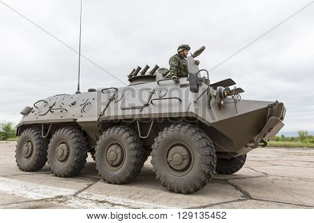Armoured Vehicle For Infantry Combat. Stryker