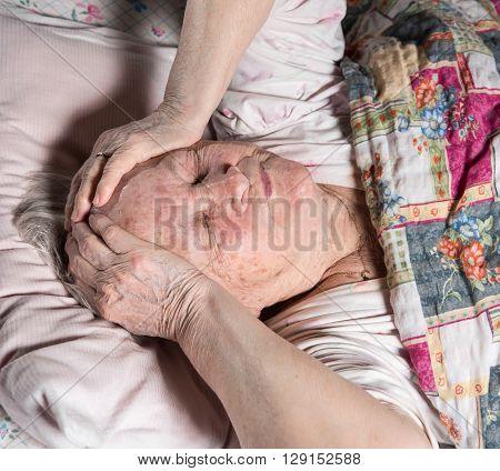 Old Sick Woman