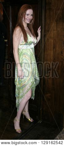Phoebe Price at the Grand Opening of Porta Bella in Beverly Hills, USA on September 2, 2005.