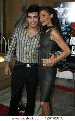Antonio Rufino and Pietra Thornton at the Los Angeles premiere of