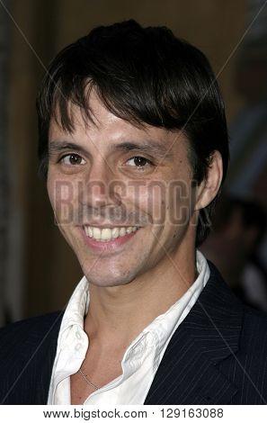 Enrique Sapene at the Los Angeles premiere of