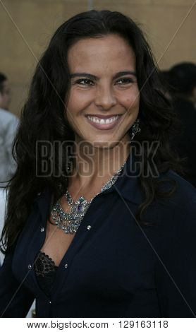 "Kate Del Castillo at the Los Angeles premiere of ""Matando Cabos"" held at the Eygptian Theatre in Hollywood, USA on on August 22, 2005."