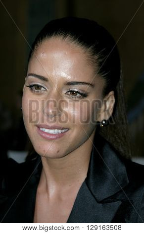 """Ana Claudia Talancon at the Los Angeles premiere of """"Matando Cabos"""" held at the Egyptian Theatre in Hollywood, USA on August 22, 2005."""