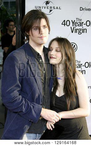 Ira David Wood and Kat Dennings at the Los Angeles premiere of