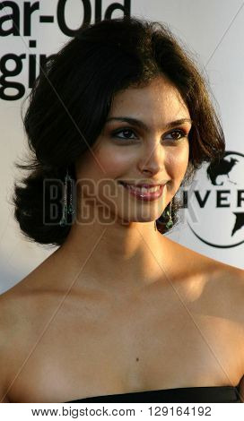 "Morena Baccarin at the Los Angeles premiere of ""The 40 Year-Old Virgin"" held at the ArcLight Theatre in Hollywood, USA on August 11, 2005."