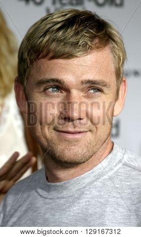"Rick Schroder at the Los Angeles premiere of ""The 40 Year-Old Virgin"" held at the ArcLight Theatre in Hollywood, USA on August 11, 2005."