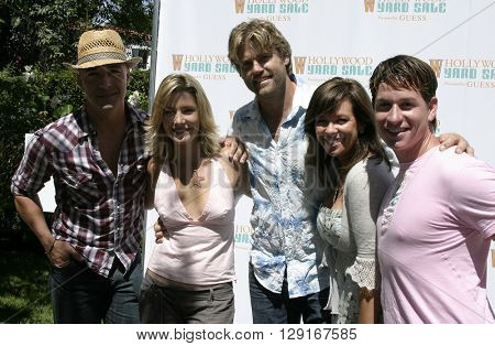 The Clean Sweep Gang at the W Magazine Hollywood Yard Sale held at the W Mag in Los Angeles, USA on September 12, 2004.