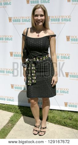 Rachel Veltri at the W Magazine Hollywood Yard Sale held at the W Mag in Los Angeles, USA on September 12, 2004.