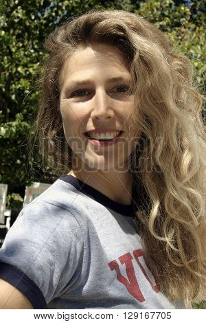 Sophie B. Hawkins at the W Magazine Hollywood Yard Sale held at the W Mag in Los Angeles, USA on September 12, 2004.