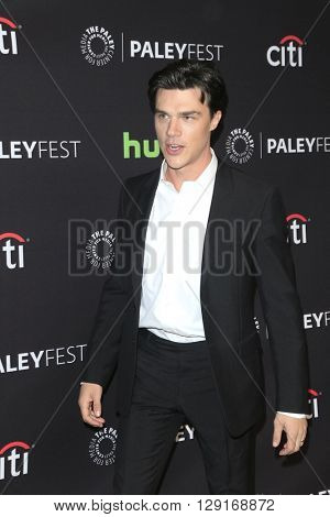 LOS ANGELES - MAR 20:  Finn Wittrock at the PaleyFest 2016 - American Horror Story: Hotel at the Dolby Theater on March 20, 2016 in Los Angeles, CA