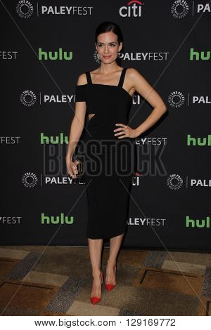 LOS ANGELES - MAR 19:  Torrey DeVitto at the PaleyFest 2016 - Dick Wolf Salute at the Dolby Theater on March 19, 2016 in Los Angeles, CA
