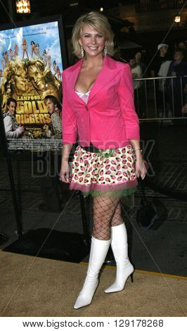 Tamie Sheffield at the Los Angeles premiere of