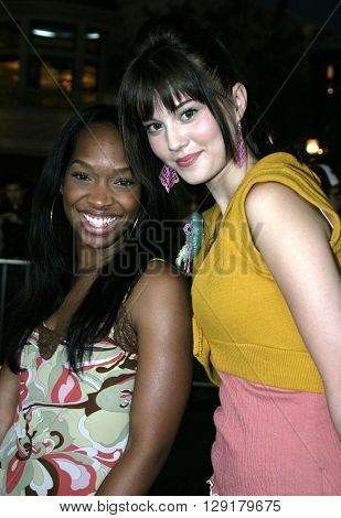 """Mary Elizabeth Winstead at the Los Angeles premiere of """"National Lampoon's Gold Diggers"""" held at the Grove Stadium in Hollywood, USA on September 13, 2004."""