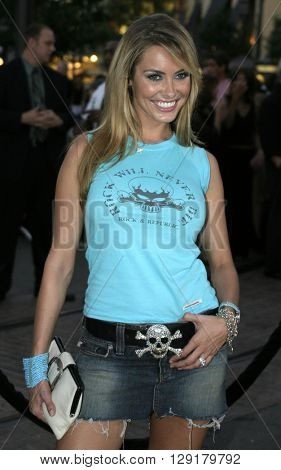 """Bobbie Sue Luther at the Los Angeles premiere of """"National Lampoon's Gold Diggers"""" held at the Grove Stadium in Hollywood, USA on September 13, 2004."""