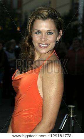 "Alicia Arden at the Los Angeles premiere of ""National Lampoon's Gold Diggers"" held at the Grove Stadium in Hollywood, USA on September 13, 2004."