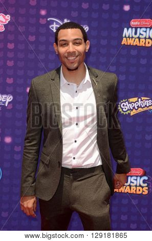 LOS ANGELES - APR 29:  Dawin at the 2016 Radio Disney Music Awards at the Microsoft Theater on April 29, 2016 in Los Angeles, CA