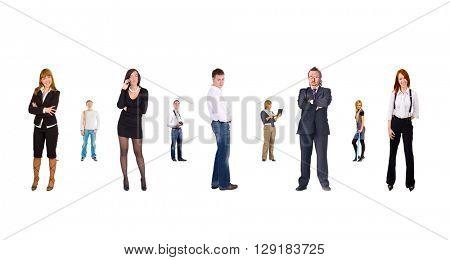 Isolated Groups Office Idea