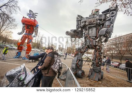 Transformers Protecting Zagreb