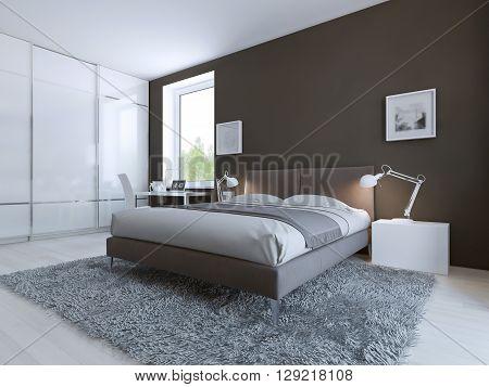 Minimalist Bedroom Image & Photo (Free Trial) | Bigstock