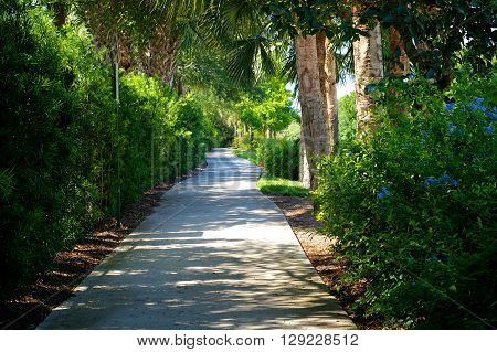 Beautiful Scenic Bike Path