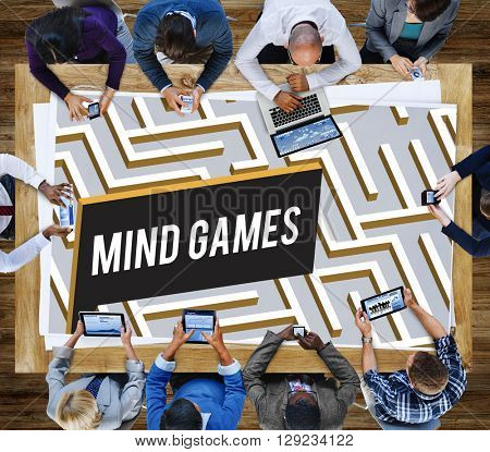 Mind Games Strategy Maze Solution Concept