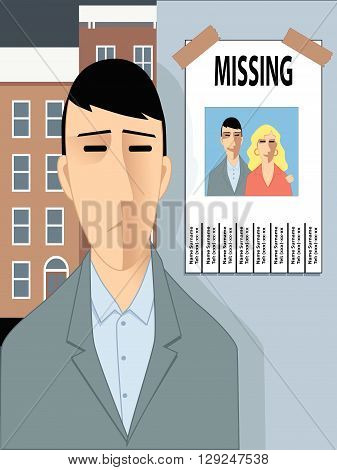 Man with missing flyer, divorce, erectile dysfunction