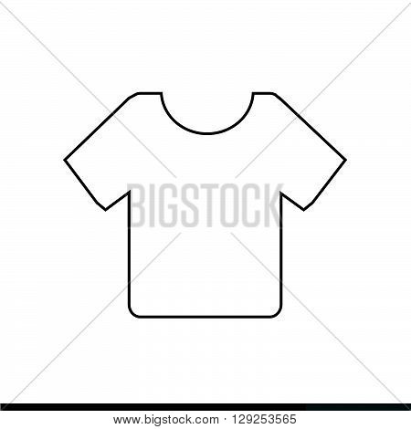 an images of Blank Tshirt Icon Illustration design