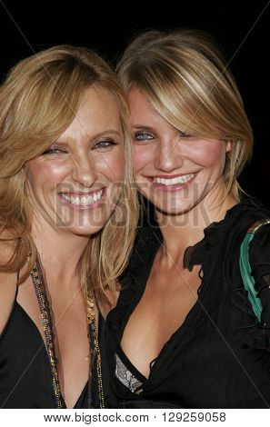 Cameron Diaz and Toni Collette at the Los Angeles premiere of