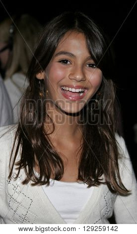 Victoria Justice at the Los Angeles premiere of