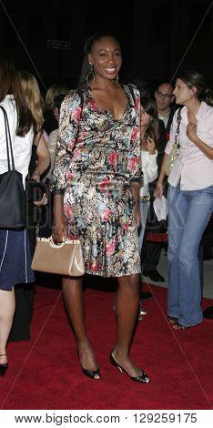 Venus Williams at the Los Angeles premiere of