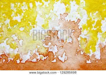 Orange and Yellow Watercolour Background 8
