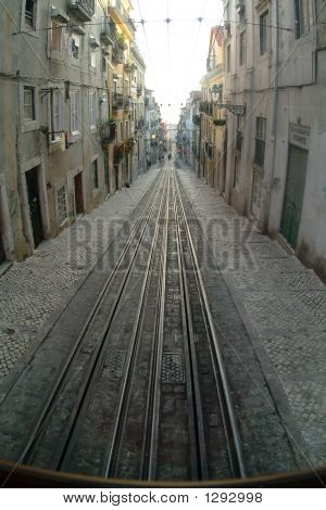 Tranway In Lisbon