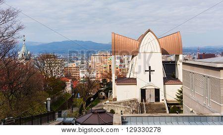 Motomachi District Cityscape