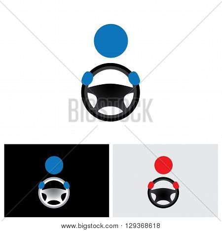 driver vector logo icon in eps 10 format