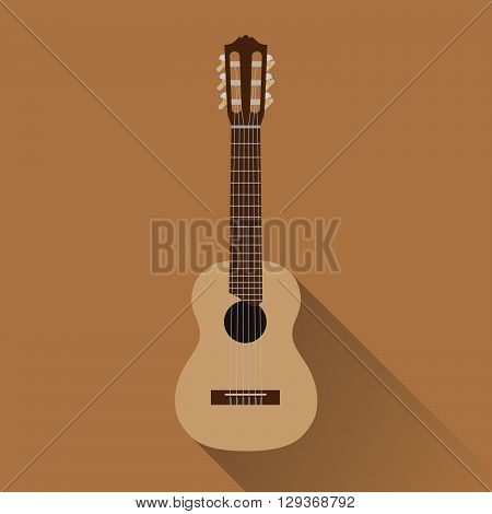 a combined of guitar and ukulele instrument