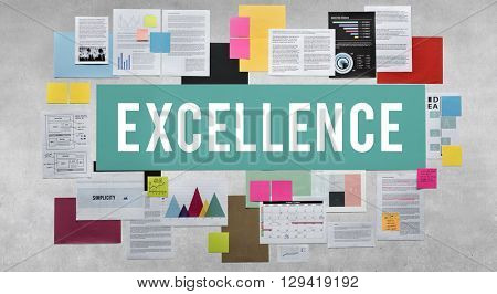 Excellence Expert Ability Expert Intelligence Good Concept