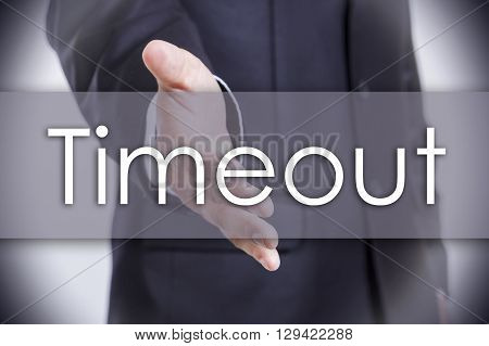 Timeout - Business Concept With Text