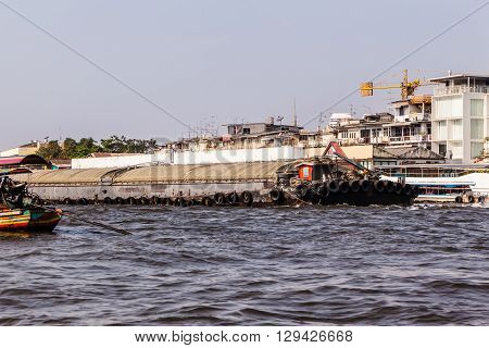 Industrial Barge