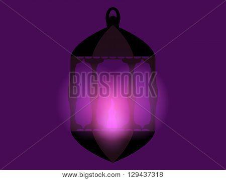 Lantern. Ramadan Kareem. Arabic Lantern. Ramadan Lanterns. Vector Illustration.