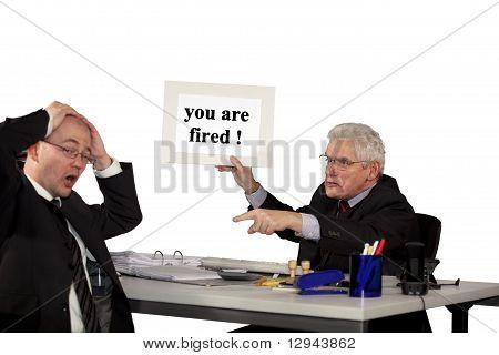 manager firing employee