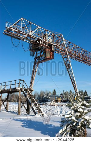 The Big Industrial Crane