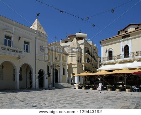 Mousio Solomou ke Epifanon Zakinthion on Saint Markos Square - Greece, Zakynthos Island, Zakynthos / St Markos Square Zakynthos Town Zakynthos (Zante) Island Greece