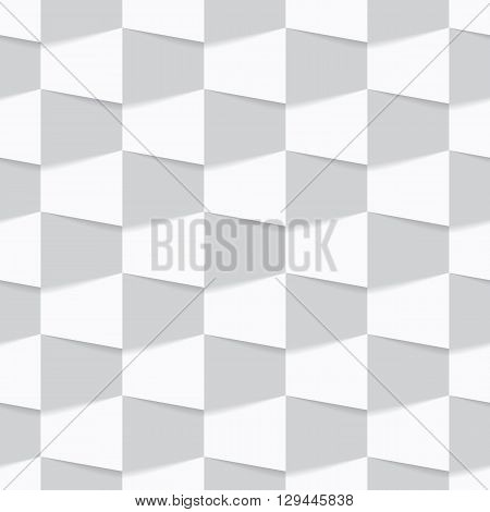 Seamless background made from trapeze. Vector illustration